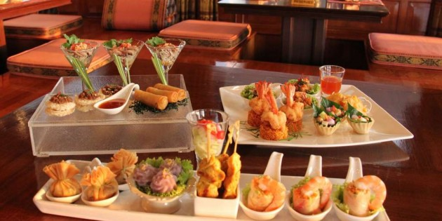 Taste the Best Thai Tapas at Thara Thong, Royal Orchid Sheraton Hotel & Towers