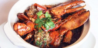 Boston Lobster at MAN FU YUAN