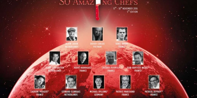 SO SOFITEL BANGKOK GATHERS 11 MICHELIN STARS TO CELEBRATE 5TH SO AMAZING CHEFS 2016
