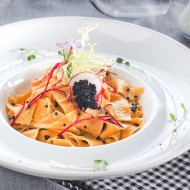 <b>Cold and Gold Caviar at Don Giovanni Restaurant, C...</b>