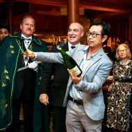 <b>CONFRÉRIE DU SABRE D'OR CHAMPAGNE DINNER AT DON GI...</b>