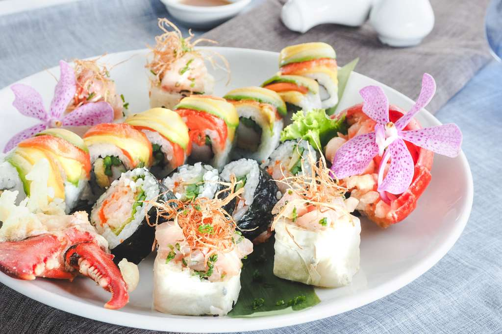 Spring-Seasonal-Rolls-at-Hagi-Restaurant