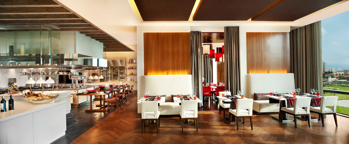 The St. Regis Bangkok_VIU_Dining Area with open kitchen_resize