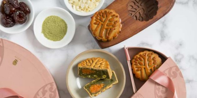 MOON CAKES from Banyan Tree Bangkok