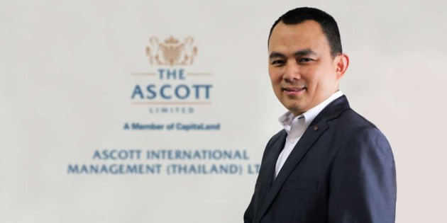 ASCOTT WELCOMES NEW COUNTRY GENERAL MANAGER ITS THAILAND CLUSTER