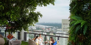 BANYAN TREE BANGKOK LAUNCHES SAFFRON SKY GARDEN