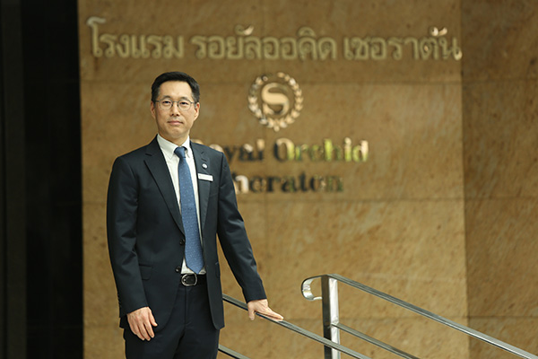 Joon Kwan Park, New Hotel Manager of Royal Orchid Sheraton Hotel & Tower..._2