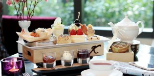 """Marvellous Sunrise Afternoon Tea Set"" at Hanuman Bar, Siam Kempinski Hotel Bangkok"