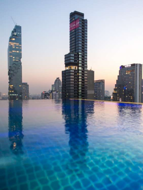 Pool time at Amara Bangkok
