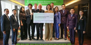 Asian Organic Gourmet Festival 2018 Raises Over THB 300,000 for The Beaumont Partnership Foundation