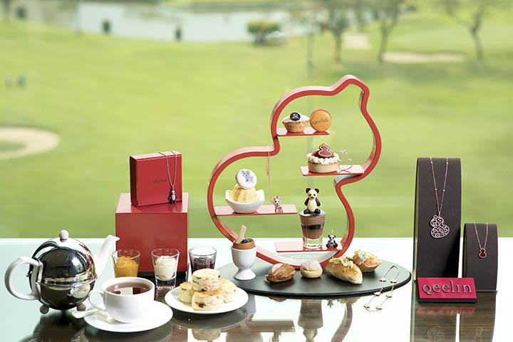 Qeelin Afternoon tea set2