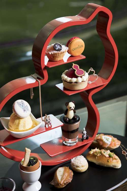 Qeelin Afternoon tea set3
