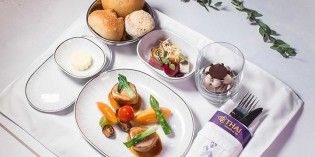 MANDARIN ORIENTAL, TAIPEI AND THAI AIRWAYS PRESENT A MICHELIN-STARRED GASTRONOMIC EXPERIENCE IN THE SKY