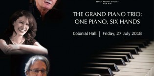 """THE GRAND PIANO TRIO"" AT CENTARA GRAND BEACH RESORT & VILLAS HUA HIN"