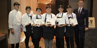 Winner Okura cooking competition wins a 9-day educational trip to Hotel Okura Amsterdam