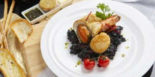 Mediterranean Seafood at Don Giovanni Restaurant