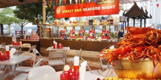 STREET AND SEAFOOD BUFFETS ON SATURDAY NIGHTS AT SHANGRI-LA HOTEL, BANGKOK'S NEXT2 CAFÉ
