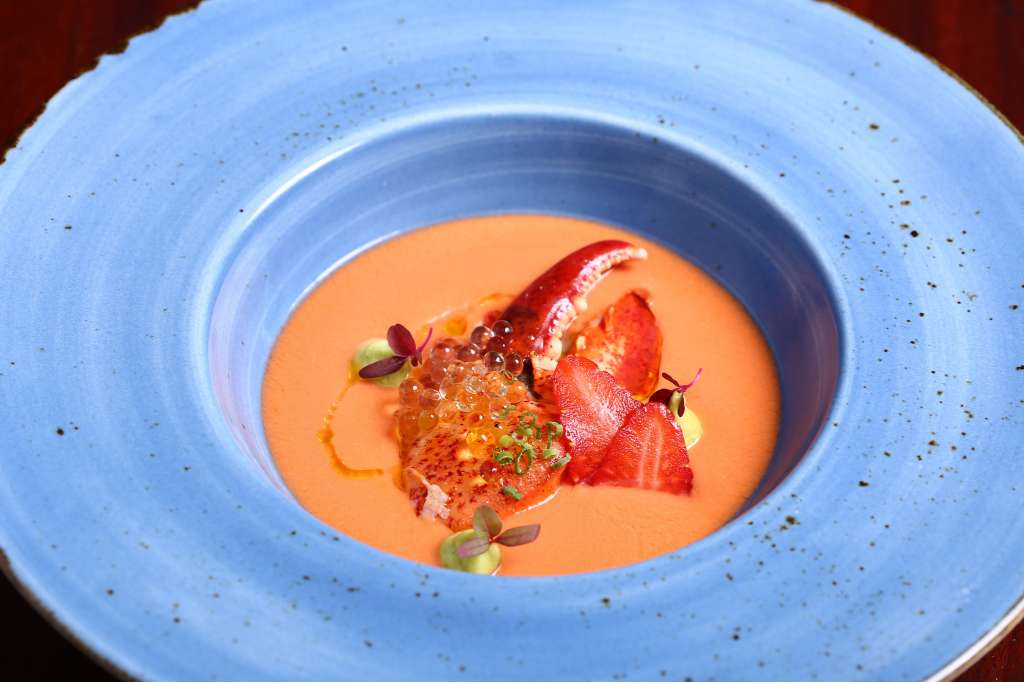 Strawberry-Salmorejo-Soup