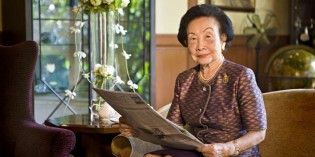 Thanpuying Chanut receives prestigious Lifetime Achievement Award