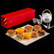 <b>Traditional Mooncakes at The Okura Prestige Bangko...</b>