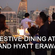 <b>FESTIVE INDULGENCE AT GRAND HYATT ERAWAN BANGKOK</b>