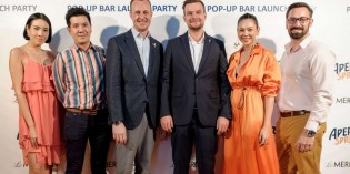 Aperol Spritz Pop-Up Bar Launch Party at Le Meridien Bangkok