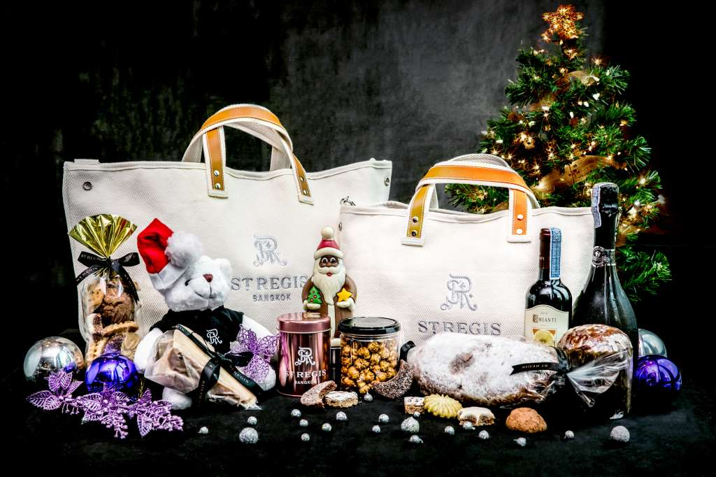 THE TWELVE DAYS OF GIFTING, ST. REGIS HAMPERS 2018