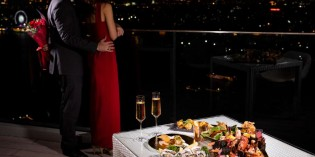 VALENTINE'S DAY AT ATTITUDE ROOFTOP BAR & RESTAURANT, AVANI+ RIVERSIDE BANGKOK