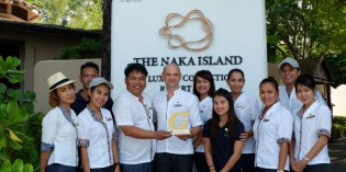 "The Naka Island, A Luxury Collection Resort & Spa, Phuket Wins ""Gold Level"" 2019 Green Hotel Award"