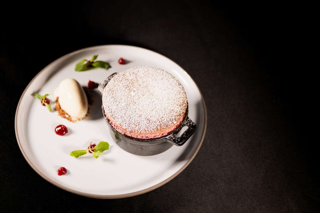 Raspberry-Ginger-Souffle