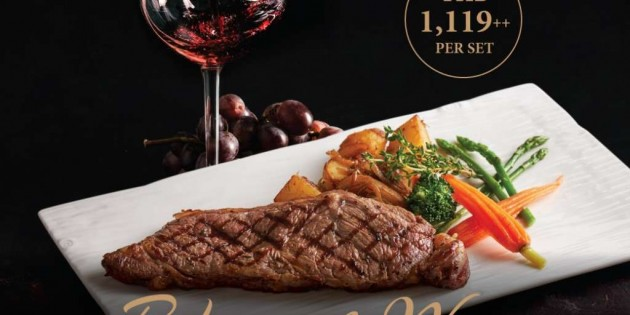 Ribeye & Wine Promotion at The Eatery, Four Points by Sheraton Bangkok