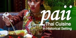 Fine Thai Cuisine in a Historical Setting at PAii