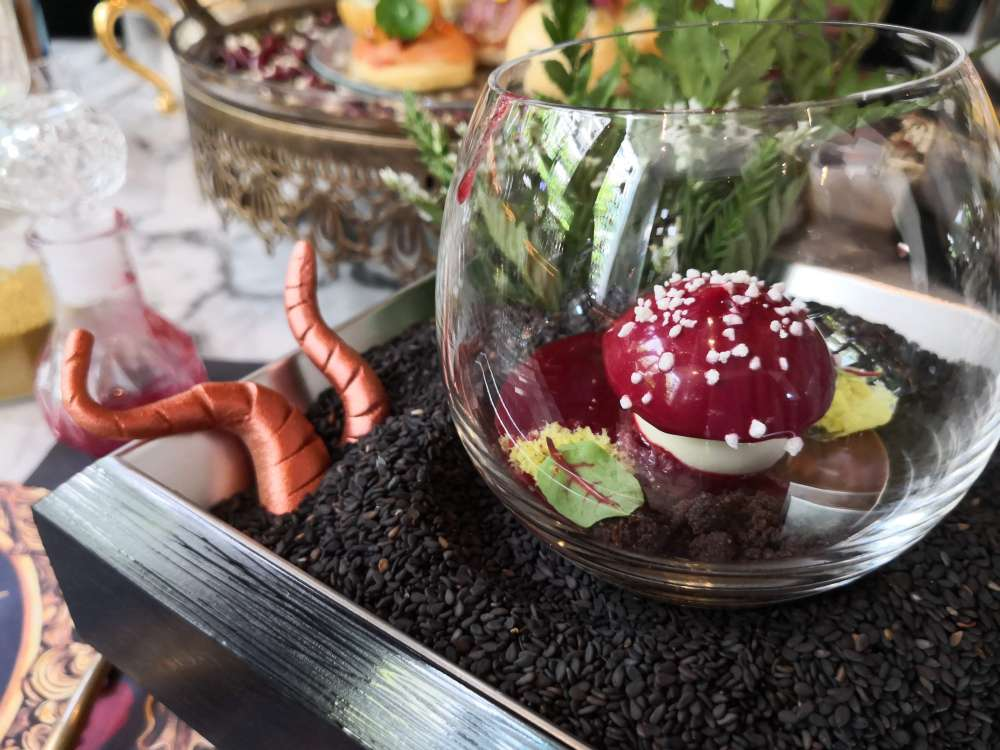 Fairy-tale Afternoon Tea Inspired by Beauty & The Beast00
