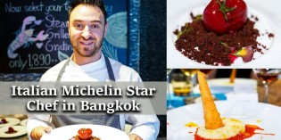 Italian Michelin Star Chef Andrea Cannalire in Bangkok at La Tavola Renaissance Bangkok